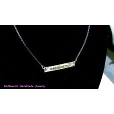 Elegant ID necklace